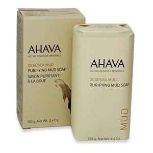 AHAVA Dead Sea Mud Purifying Bar Soap NIB